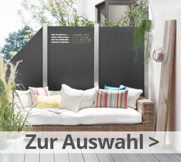 Sichtschutzzaun - Gartenzaun Online Kaufen Bei Zaun-profi.de Gartenzaun Sichtschutz Naturstein