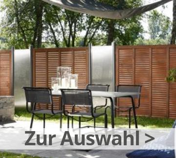 sichtschutzzaun gartenzaun online kaufen bei zaun. Black Bedroom Furniture Sets. Home Design Ideas