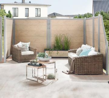 sichtschutzzaun gartenzaun hier g nstig online kaufen. Black Bedroom Furniture Sets. Home Design Ideas