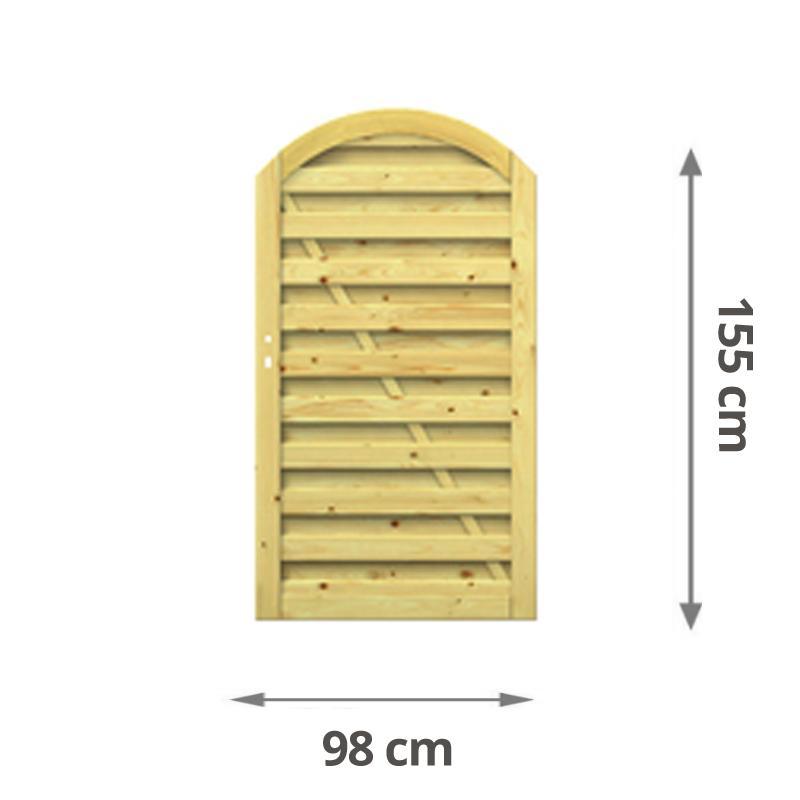 Brügmann Sichtschutz RONJA Tor kdi - 98 x 155 (179) cm