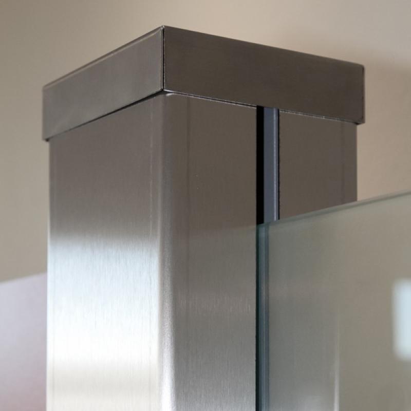 TraumGarten Ummantelungsset für System-Pfosten - 8 x 8 x 193 cm