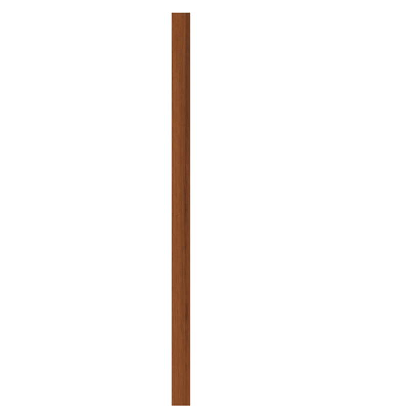 TraumGarten Zaunpfosten EXKLUSIV lasiert - 9 x 9 x 195 cm