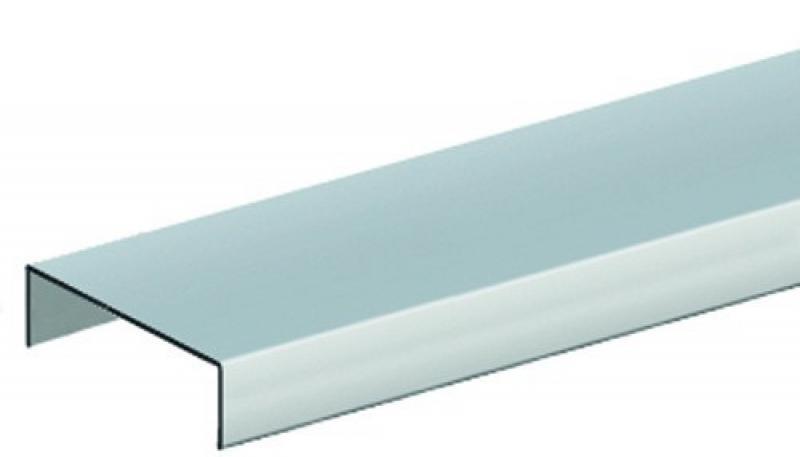 br gmann aufsatzleiste aluminium f r gerade elemente 4 x. Black Bedroom Furniture Sets. Home Design Ideas
