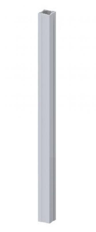 TraumGarten Zaunpfosten Longlife grau - 8 x 8 x 105 cm