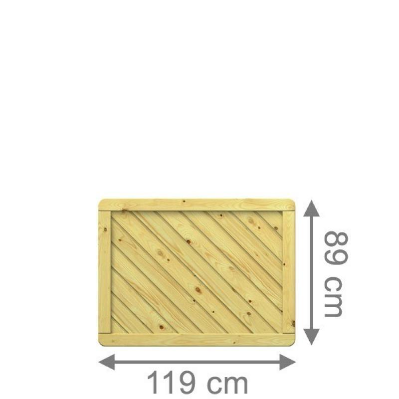 TraumGarten Sichtschutzzaun Gada Rechteck kdi - 119 x 89 cm