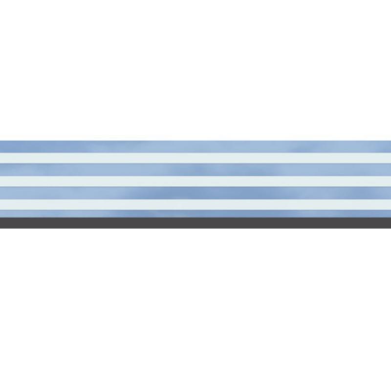 TraumGarten Dekorprofil System Set Delta-Design Sicherheitsglas - 15 x 178 cm