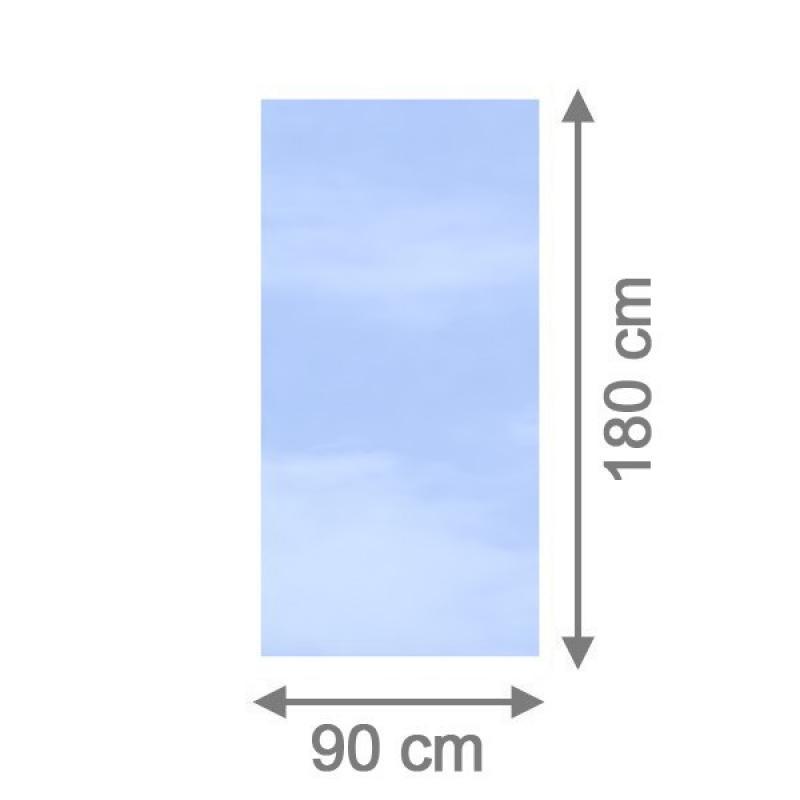 br gmann sichtschutzzaun system glas klar rechteck 90 x 180 x 0 8 cm. Black Bedroom Furniture Sets. Home Design Ideas