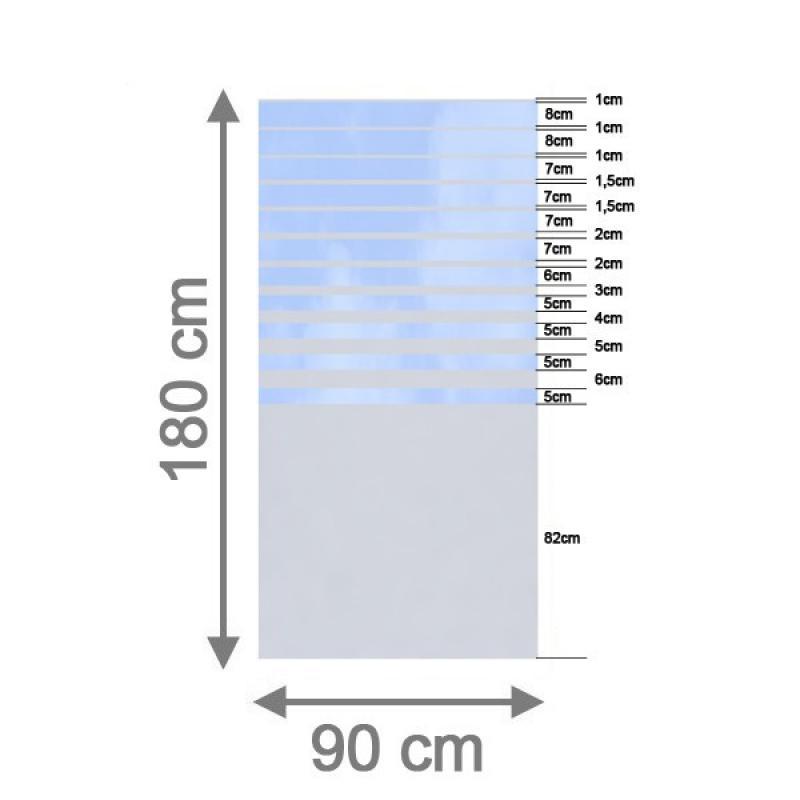br gmann sichtschutzzaun system glas beta rechteck 90 x 180 x 0 8 cm. Black Bedroom Furniture Sets. Home Design Ideas