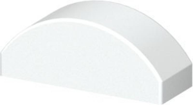 TraumGarten Profilaufsatz Set Cara Dom weiß - 3,4 x 8,5 x 3,1 cm