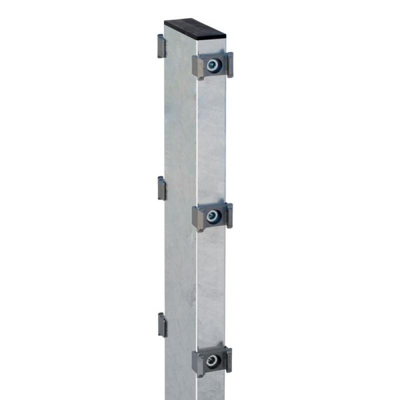 Gabionenpfosten Zaunpfosten Typ DO 120X40  Feuerverzinkt - Länge: 2000 mm