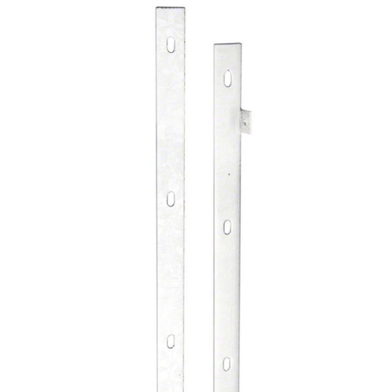Doppelstabgitterzaun VARIO trend Zaun-Anschlussleiste Zink - Länge: 1030 mm