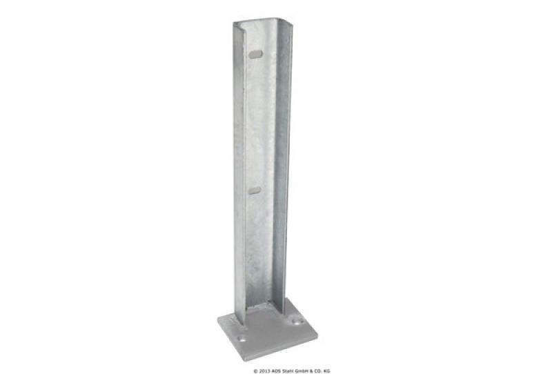 Gabionen Fußplatte SAPHIR (120x100x10)