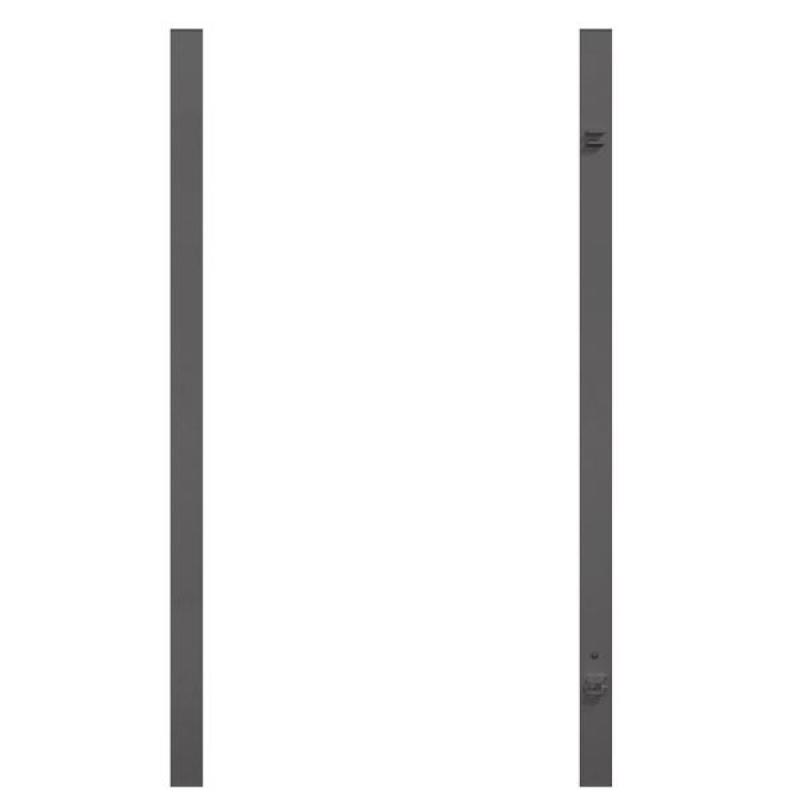 br gmann torpfosten set universal anthrazit 8 x 8 x 255 cm. Black Bedroom Furniture Sets. Home Design Ideas