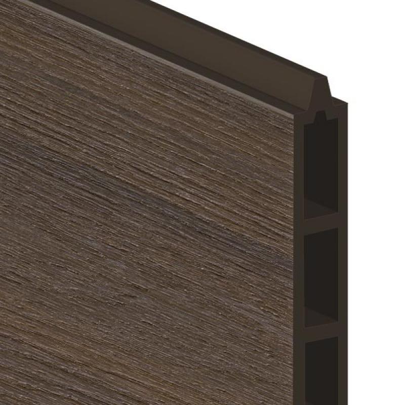 br gmann einzelprofil system wpc platinum braun 15 x 2 x. Black Bedroom Furniture Sets. Home Design Ideas