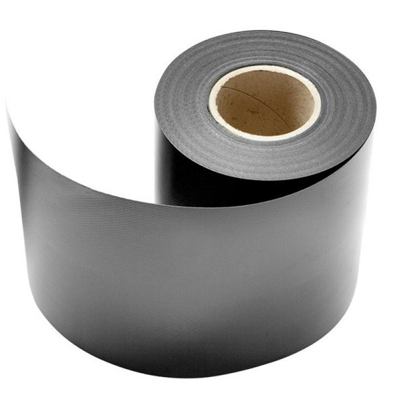 Doppelstabgitterzaun Sichtschutzzaun A1 Rolle (L: 350 cm x 19 cm) - anthrazit