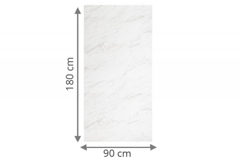 TraumGarten Sichtschutzzaun System Board Rechteck marmor - 90 x 180 x 0,6 cm