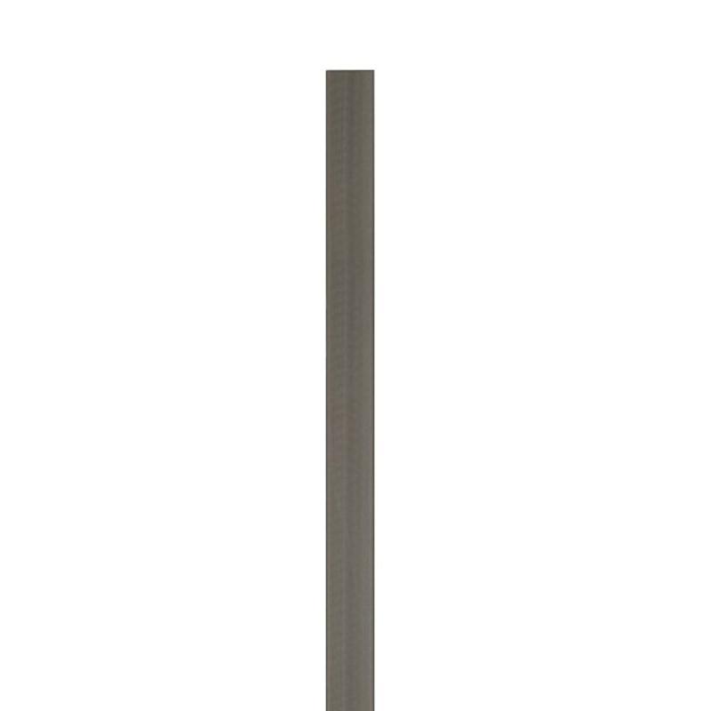 TraumGarten Zaunpfosten WPC anthrazit - 8,4 x 8,4 x 200 cm