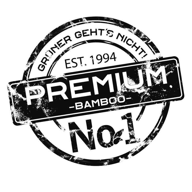aMbooo Terrassendielen Bambus Primus Farbe Coffee - Maße: 2200x140x20