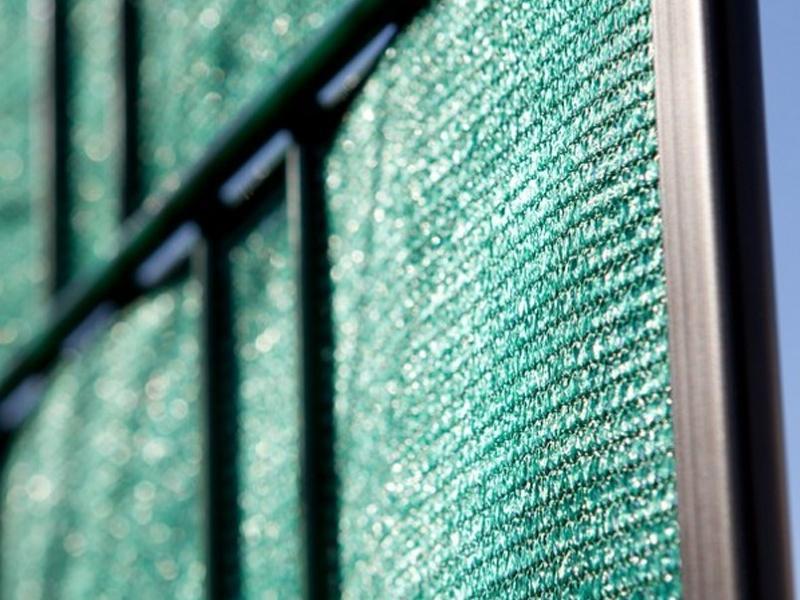 sichtschutz folie zaun tex l 700 cm x b 20cm gr n. Black Bedroom Furniture Sets. Home Design Ideas