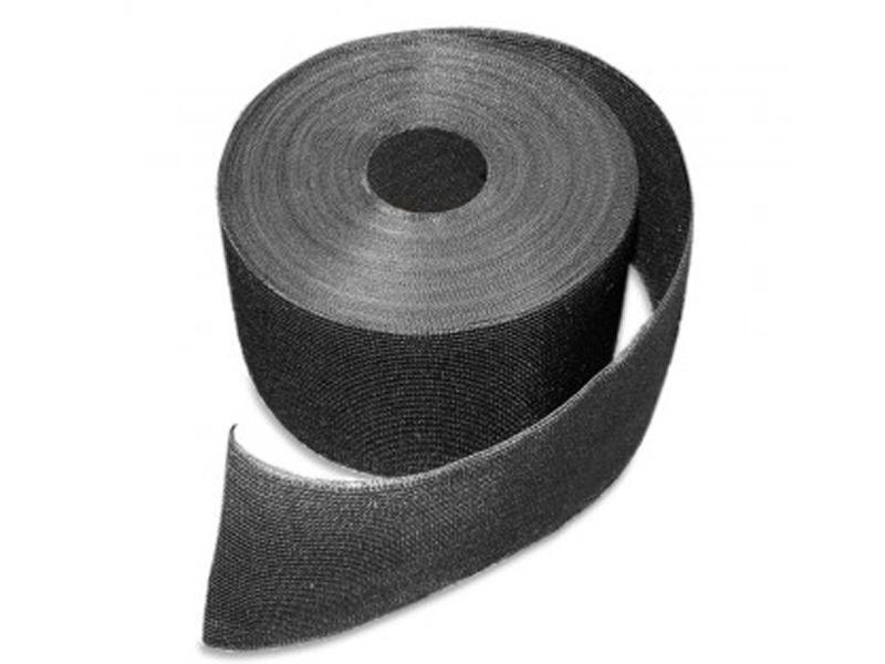 Doppelstabgitterzaun Sichtschutzstreifen Folie zaun-tex (L: 700 cm x B: 19cm) - anthrazit