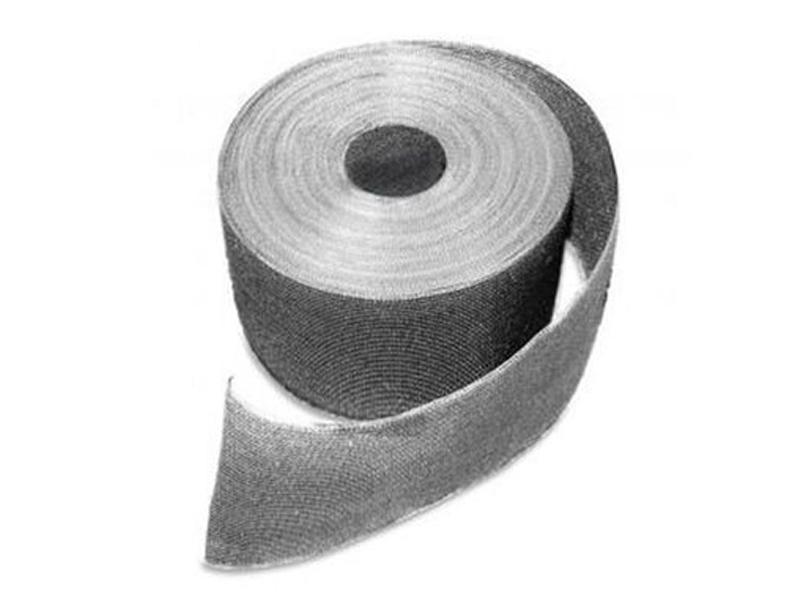 Doppelstabgitterzaun Sichtschutzstreifen Folie zaun-tex (L: 700 cm x B: 20cm) - silber