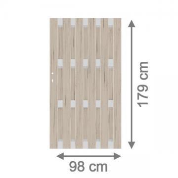 sichtschutzzaun wpc jumbo wpc sand alu hier g nstig online kaufen. Black Bedroom Furniture Sets. Home Design Ideas