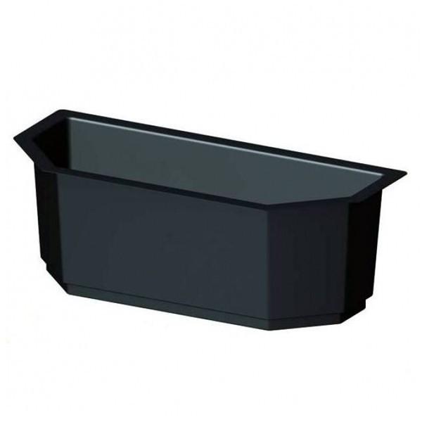 br gmann einsatz f r wandpflanzkasten schwarz 95 x 43 cm. Black Bedroom Furniture Sets. Home Design Ideas