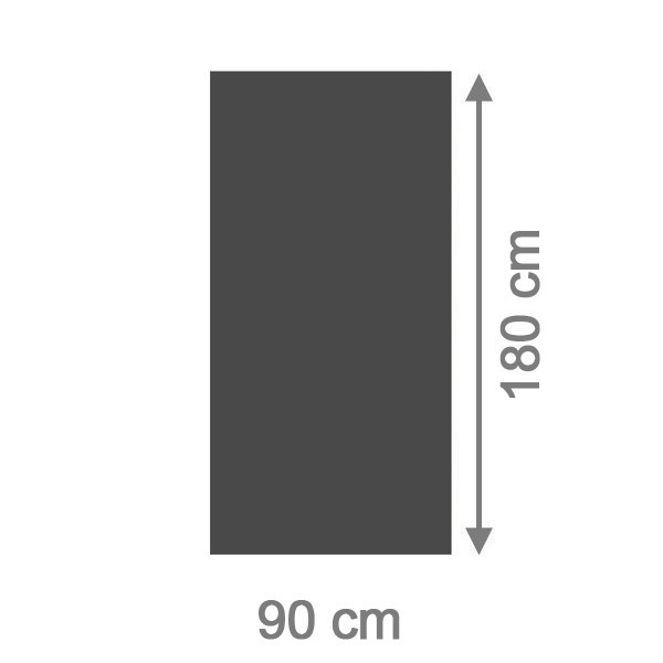 br gmann sichtschutzzaun system board rechteck schiefer 90 x 180 x 0 6 cm schiefer. Black Bedroom Furniture Sets. Home Design Ideas