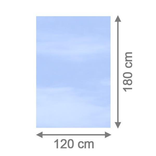 br gmann sichtschutzzaun system glas klar rechteck 120 x 180 x 0 8 cm. Black Bedroom Furniture Sets. Home Design Ideas