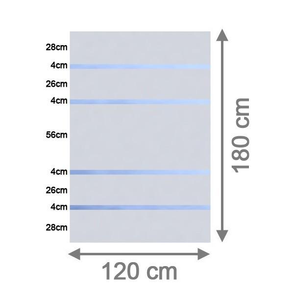 br gmann sichtschutzzaun system glas alpha rechteck 120 x 180 x 0 8 cm. Black Bedroom Furniture Sets. Home Design Ideas