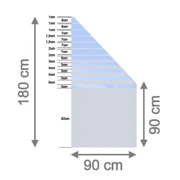 br gmann sichtschutzzaun system glas beta anschlu rechts 90 x 180 90 x 0 8 cm. Black Bedroom Furniture Sets. Home Design Ideas
