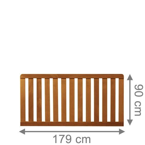 br gmann vorgartenzaun raja rechteck naturbelassen 179 x 90 cm. Black Bedroom Furniture Sets. Home Design Ideas