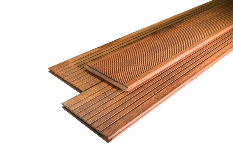Terrassendielen Bambus ambooo terrassendielen bambus prestige farbe coffee - maße: 2500x200x20