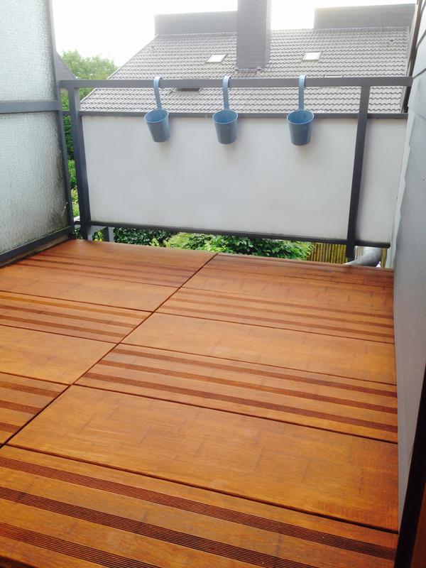 Terrassendielen Bambus ambooo terrassendielen bambus mega deck farbe coffee - maße: 950x300x30