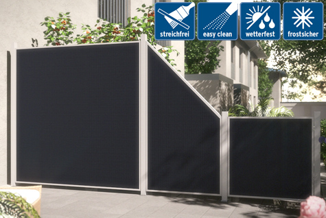 sichtschutz garten kunststoff anthrazit nabcd. Black Bedroom Furniture Sets. Home Design Ideas