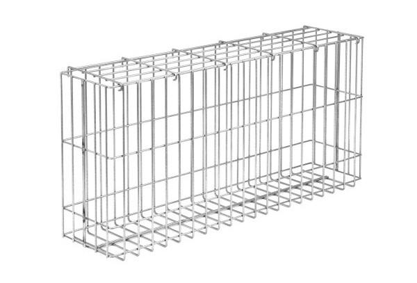gabionen korb achat zink h 500 mm inkl deckel. Black Bedroom Furniture Sets. Home Design Ideas