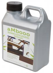 aMbooo Terrassendielen Bambus Pflegeöl 1,0 ltr.   Farbe Espresso