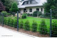 Schmuckzaun Gartenzaun Sydney RAL 7016 - Höhe: 830 mm