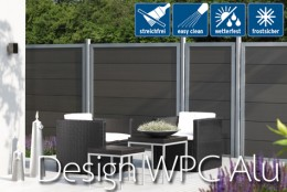 DESIGN WPC ALU - anthrazit