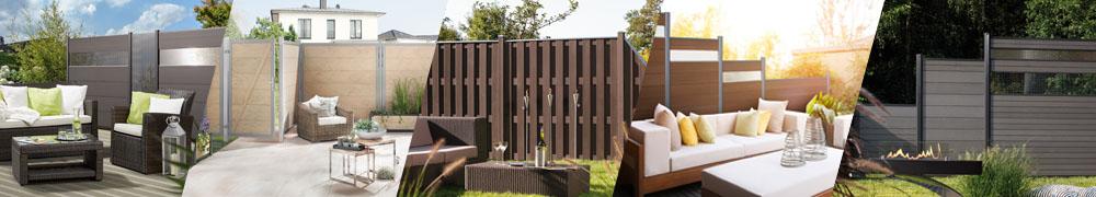 Sichtschutzzaun Aus Kunststoff Gute Alternative Holzzaun , Sichtschutzzaun Wpc Erleben Sie Natur Neu Mit Sichtschutz Wpc