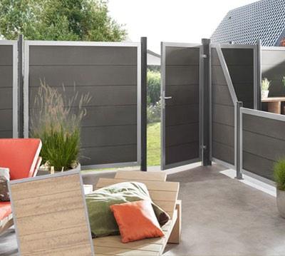 zaun profi fachh ndler sichtschutzzaun gartenzaun von br gmann online kaufen. Black Bedroom Furniture Sets. Home Design Ideas