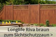 sichtschutzzaun - gartenzaun online kaufen bei zaun-profi.de, Terrassen ideen