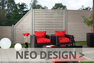 sichtschutzzaun aus nadelholz farbig lasiert gro e auswahl. Black Bedroom Furniture Sets. Home Design Ideas