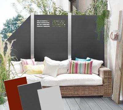 68 gartenzaun ideen Рden n̦tigen sichtschutz im vorgarten ...